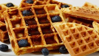 Waffles Recipe Demonstration - Joyofbaking.com