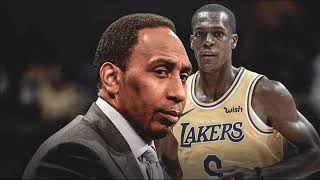 Stephen A. Smith go at Kevin Durant but wants no smoke from Rondo