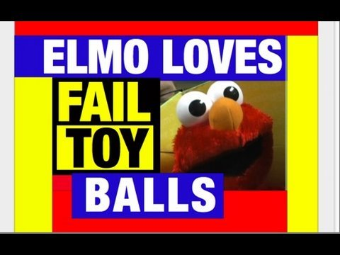 Funny Videos , ELMO LOVES BALLS Fail Toys & Wiggles Guitar review by Mike Mozart @JeepersMedia