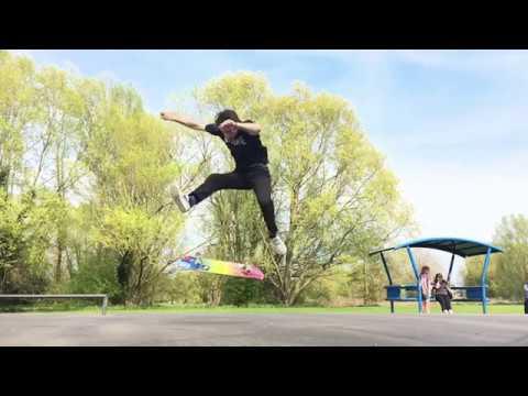 Heel Flip Late Front Foot Flip - Ellis Frost