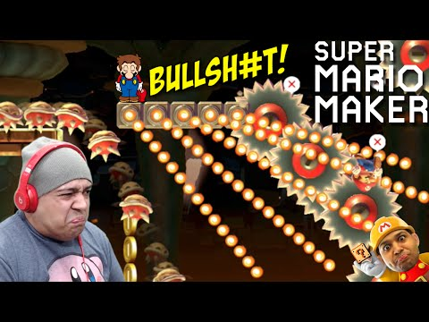 LOOK AT ALL THIS BULLSH#T!! [SUPER MARIO MAKER] [#40]
