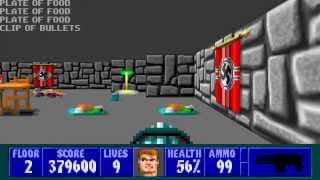 Wolfenstein 3D - Episode 1, Floor 2