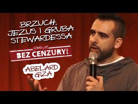 BRZUCH, JEZUS I GRUBA STEWARDESSA - Abelard Giza