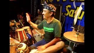 Cover Lagu - SAYANG 2 - Cak Met Ngendang Sambil Goyang - New Pallapa Banjar Anyar