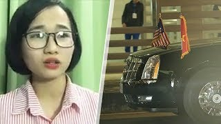 Nữ sinh đón Tổng Thống Trump bị bắt cóc ngay giữa trung tâm Hà Nội