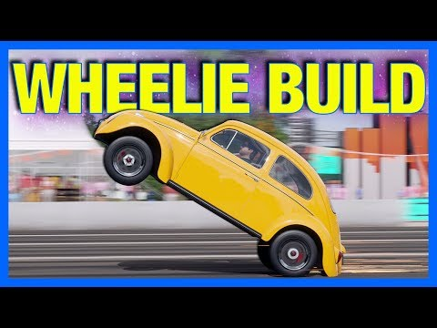 Forza Horizon 4 : VW Beetle Wheelie Build!! (How To Wheelie a Car in FH4)