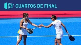Resumen Cuartos de Final Femeninos (segundo turno) Valladolid Master | World Padel Tour