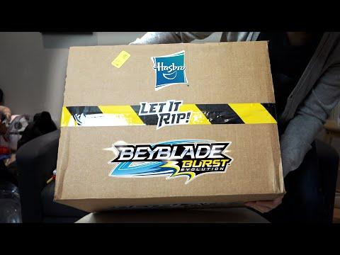 Hasbro Beyblade Burst Evolution MYSTERY BOX Unboxing!
