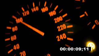 BMW e39 520i acceleration 0-100.