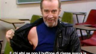 George Carlin: The Class clown (sub ita)