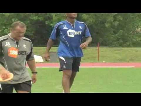 EPL's Bolton Wanderers FC Visit Charlotte's Transamerica Field Video