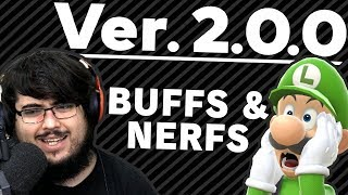 Patch 2.0.0 BUFFS & NERFS In Super Smash Bros. Ultimate