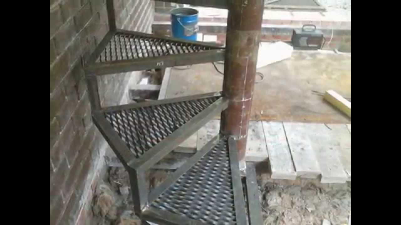 Метал винтовые лестницы своими руками фото