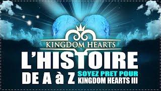 L'HISTOIRE DE A à Z | SOYEZ PRET POUR KINGDOM HEARTS III !