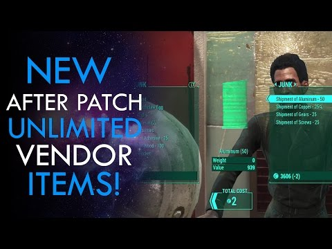 Fallout 4 New CAPS Glitch/Duplication Trick After Patch
