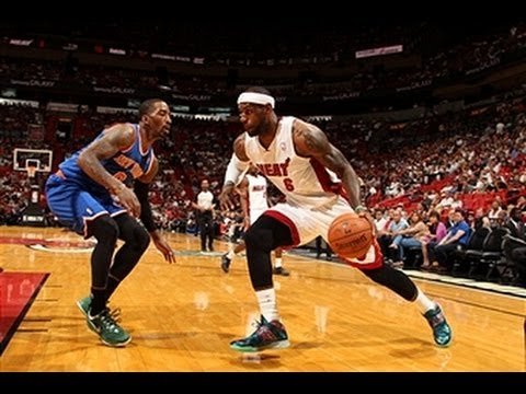 Duel: LeBron James versus J.R. Smith