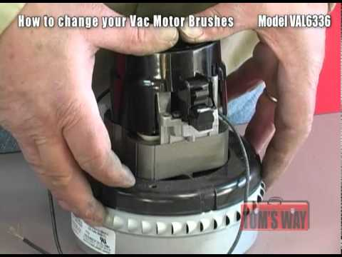 how to change your vac motor brushes kleen rite youtube Century Motors Wiring-Diagram Wire Colors Baldor Motor Wiring Diagram