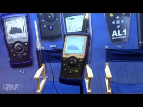 InfoComm 2013: NTI Americas Presents its XL2 Sound Analyzer