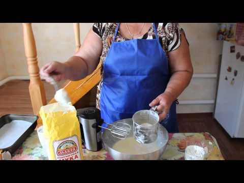 Как приготовить творожный кекс - видео