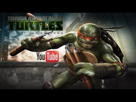 Teenage Mutant Ninja Turtles Out of the Shadows - All Cutscenes | The Movie