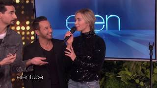 Emily Blunt Sings I Want It That Way With Backstreet Boys On Ellen Show