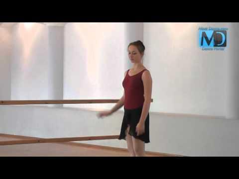 Классический балет. Видео урок №1 от MostDance.com (М. Бурляй)