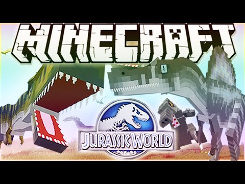 MineCraft Jurassic World RolePlay How To Train Your Dino Ep.8