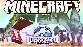 "MineCraft Jurassic World ""RolePlay"" How To Train Your Dino Ep.8"
