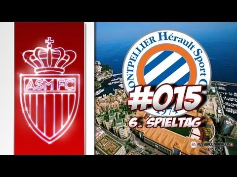 AS MONACO - Fussball Manager 13 Lets Play #015 - 6. Montpellier | ᴴᴰ