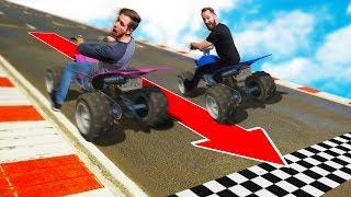 REVERSE STUNT RACE!   GTA5