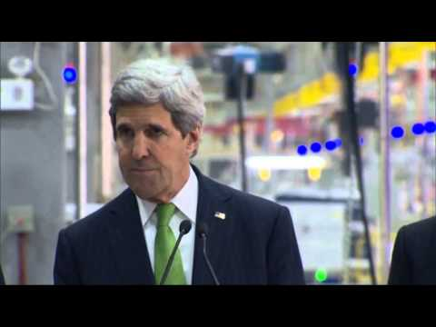Kerry: US to Work With China on Climate Change