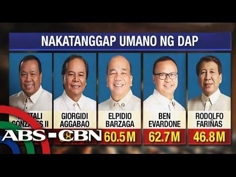 Anti-impeachment lawmakers got DAP funds?