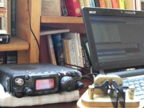 KX9X/1 - Field Day 2010: QRP QSO 1 watt