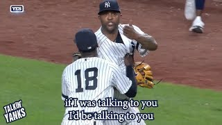 CC Sabathia and Avisail Garcia exchange words, a breakdown