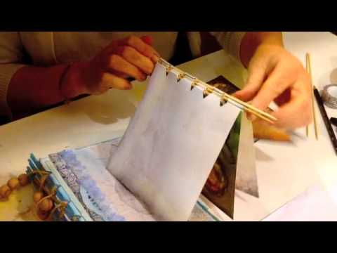 Craft Ideas How To Make A Scrapbook Youtube