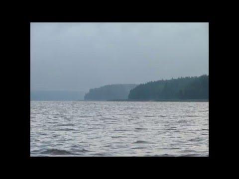 Nadzwyczaj Burzowy Rejs - Kanał Iławski - Jeziorak - Rok 2008 - Przystań Na Wyspie