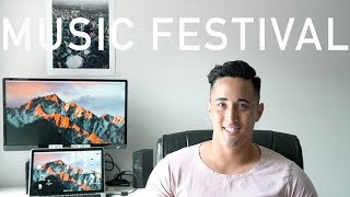 Filming My First Music Festival | Becoming a Videographer | Ep. 4