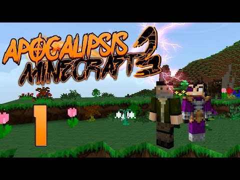 HOLA OTRA VEZ!! | #APOCALIPSISMINECRAFT3 | EPISODIO 1 | WILLYREX Y VEGETTA