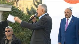 """Başbakan Yıldırım: """"Seneye Cizre Doğalgaza Kavuşuyor"""""""