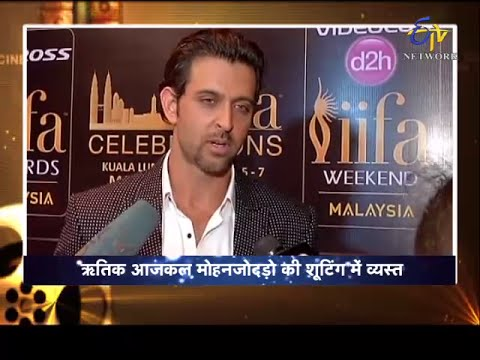 Cininama-Interview-Hrithik Roshan-IIFA Awards Special-On 22nd June 2015