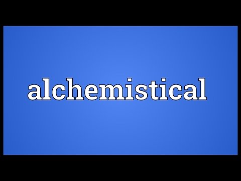 Header of Alchemistical