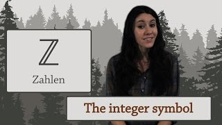 Arithmetic: What is the symbol for Integers?