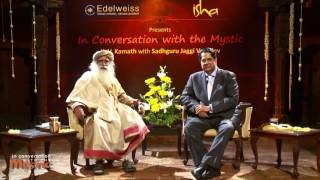 In Conversation with the Mystic   K  V  Kamath with Sadhguru
