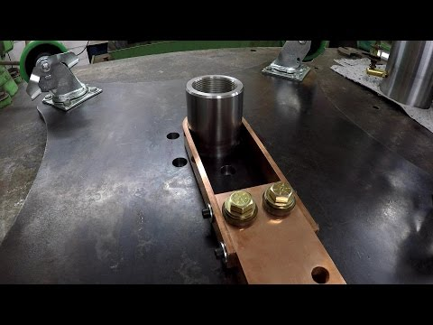 Rotary Welding Table Build Part 14