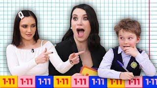 Кто умнее - Оля Серябкина или школьники? Шоу Иды Галич 1-11