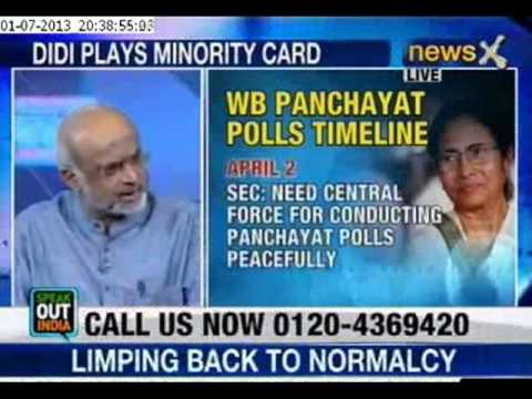 Speak Out India: Mamata Banerjee displays communal card