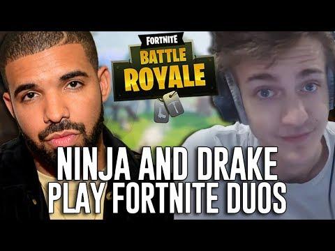 Ninja and Drake Play Duos!!! - Fortnite Battle Royale Gameplay - Game 2