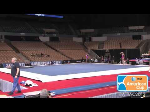 2013 AT&T American Cup - Women's Podium Training