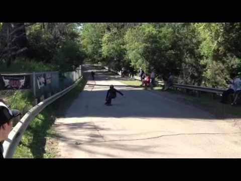 High Level Downhill Open Finals 2012