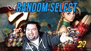 The Return of  USFIV Random Select!  Floe plays Ultra Street Fighter IV